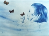 forever-blue-50-70cm-color-pencil